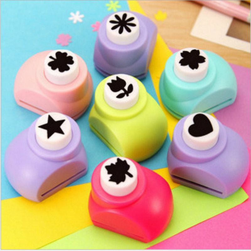 Vorkin 1 PCS Kid Child Mini Printing Paper Hand Shaper Scrapbook Tags Cards Craft DIY Punch Cutter Tools 8 Styles HOT - Best price in 10minus