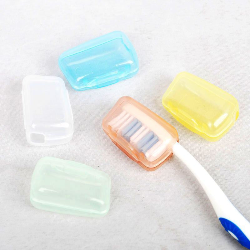 Vorkin 5pc/lot Toothbrush Cover Brush Cap Case Portable Travel Hiking Camping Free Shipping - Best price in 10minus