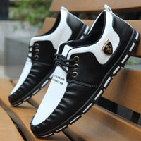 Spring and autumn men shoes 2015 Moccasins men casual shoes british style popular men flats fashion small leather single shoes - Best price in 10minus