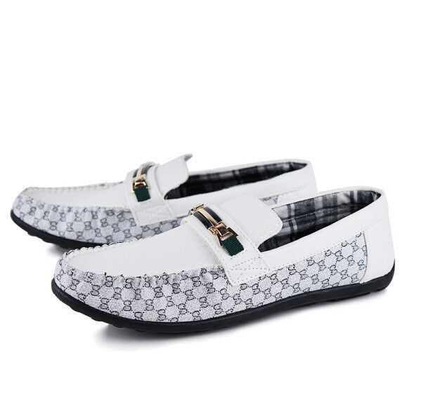 Summer Style Men Shoes Moccasins Lazy Loafers Business Casual Shoes Male Spring Flats British Style Single Shoes - Best price in 10minus