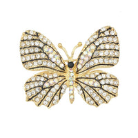 10 MINUS white Jewelry Luxury Brooch Gold Plated with Colorful Rhinestone Lovely Butterfly Brooches for Lady Accessories Jewelry Luxury Brooch Gold Plated with Colorful Rhinestone Lovely Butterfly Brooches for Lady Accessories Jewelry Luxury Brooch Gold Plated with Colorful Rhinestone Lovely Butterfly Brooches for Lady Accessories white