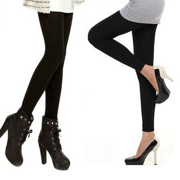Wholesale Winter Leggings For Women Slim Fit Casual Warm Legging Super Elastic Leggings Black - Best price in 10minus