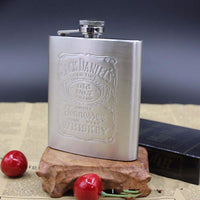 With Box Portable Stainless Steel Hip Flask 7oz Embossed Flagon Flasks Russian Wine Beer Whiskey Bottle Alcohol Drinkware PL072 - 10MINUS: Online Shopping Destination with High-Quality
