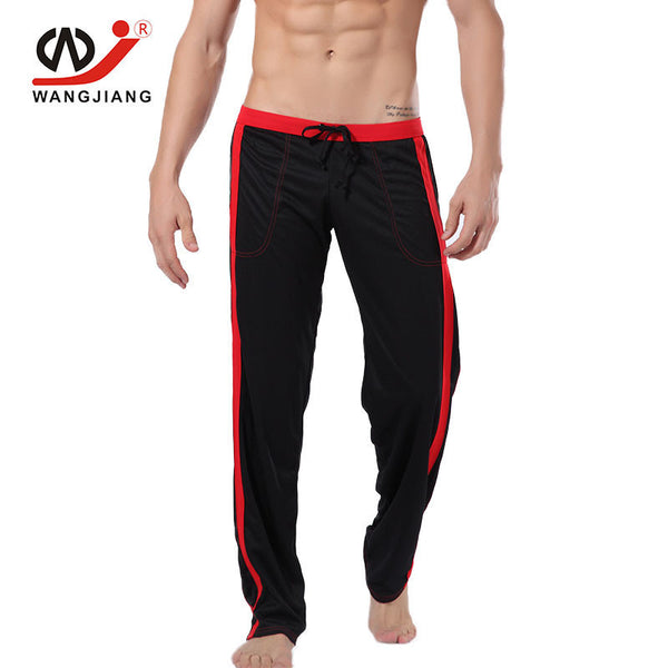WJ Track Pants Pantalon Homme Mens Joggers Clothing Sweatpants Pantalones Hombre Polyester Men Homme Mens Sexy Spor ts Pants - Best price in 10minus