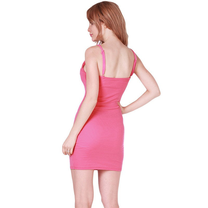Fashion Women Sexy Backless Basic Dresses Sleeveless Slim Vestidos Vest Tanks - 10MINUS: Online Shopping Destination with High-Quality