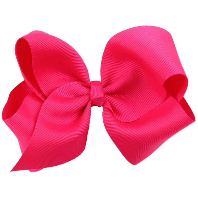 Newly Design Fashion Big Bow Hairpins Hair Clips For Children Kids Girls Hair Accessories Drop Shipping - Best price in 10minus