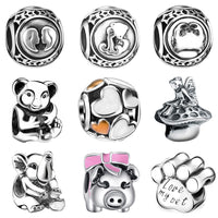 10 MINUS WYBEADS Silver Charm Constellation Animal Charms European Fit Bracelets & Bangle DIY Accessories Jewelry Original Making WYBEADS Silver Charm Constellation Animal Charms European Fit Bracelets & Bangle DIY Accessories Jewelry Original Making WYBEADS Silver Charm Constellation Animal Charms European Fit Bracelets & Bangle DIY Accessories Jewelry Original Making