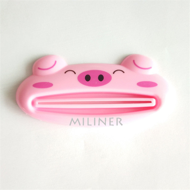 1pcs Cute Animal multifunction squeezer / toothpaste squeezer Home Commodity Bathroom Tube Cartoon Toothpaste Dispenser - Best price in 10minus