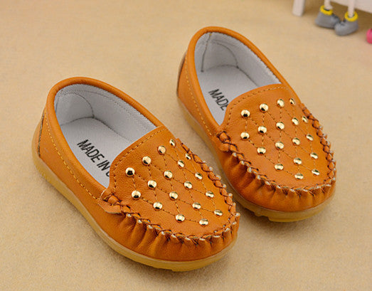 New Children Shoes Gommino Loafers Oxford Flat Shoes Boy Girl Fashion Sneakers Baby First Walkers (Toddler/ Little Kids) - 10MINUS: Online Shopping Destination with High-Quality