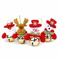 1Pc Navidad Santa Claus Snowman Elk Bear Christmas Gifts Ornaments Supplies Pendant For Home Chrismas Tree Decoration As Gifts - 10MINUS: Online Shopping Destination with High-Quality
