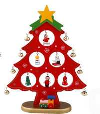 DIY Christmas Ornament Wooden Christmas Tree Christmas Hanging Ornament Gift for Children Home Xmas Table Decoration - 10MINUS: Online Shopping Destination with High-Quality