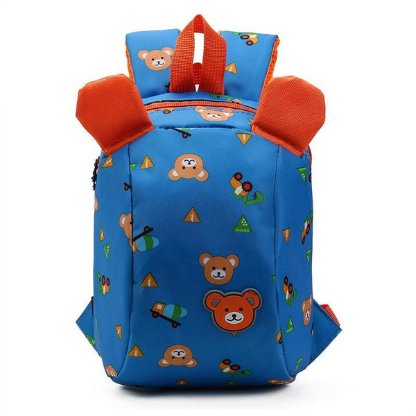 Anti-lost backpack for kids Children Backpack animals Kindergarten School bags for 1-3 years