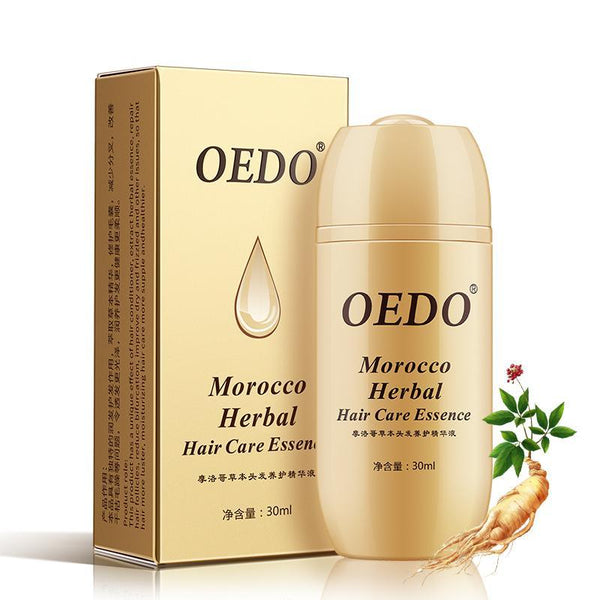 Morocco Herbal Ginseng Hair Care Essence Treatment For Men And Women Hair Loss Fast Powerful Hair - 10MINUS: Online Shopping Destination with High-Quality
