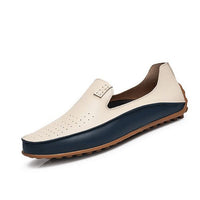 Summer Casual Shoes Men Loafers Leather Moccasins Men Driving Shoes