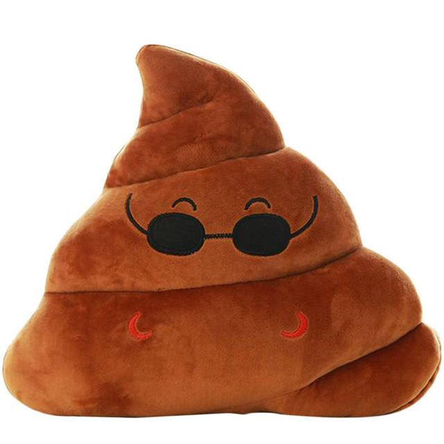 BeddingOutlet Smile Cushion Poop Emoji Pillow Special Gifts Smiley
