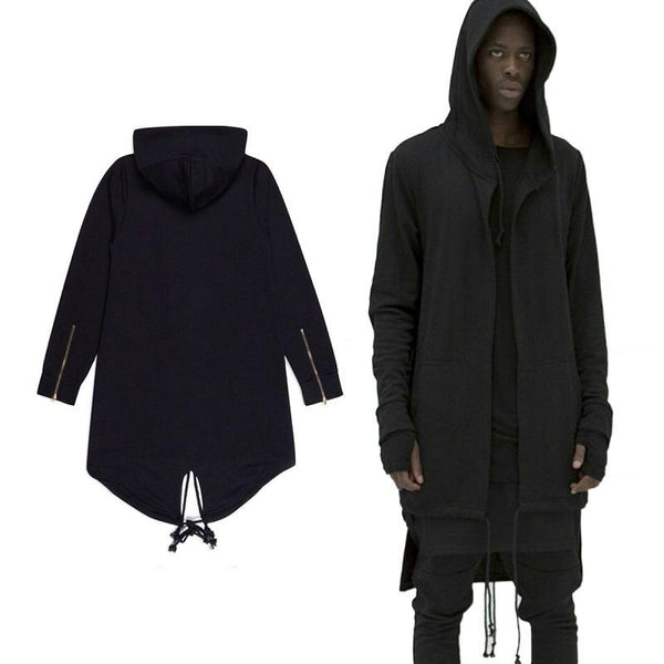 Qool XC Wear Hoodies Men/women Hooded Cloak Plus Long Shawl Double