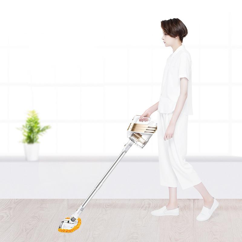 Low Noise Home Portable Vacuum Cleaner Handheld Wiping & Absorbing Dust