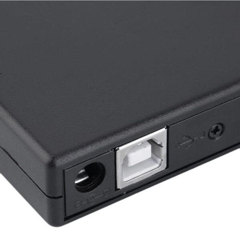DVD ROM Optical Drive USB 2.0 CD/DVD-ROM CD-RW Player Burner Slim
