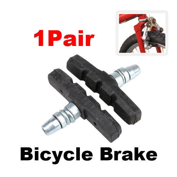 1Pair Mountain Road Folding bike Brake pads Cycling Brake Blocks Holders