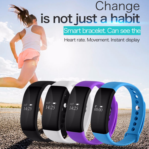 V66 Smartband Bluetooth Sports Smart Watch IP67 Waterproof Heart Rate Monitor Wristband Smart Health Bracelet for Android IOS - 10MINUS: Online Shopping Destination with High-Quality