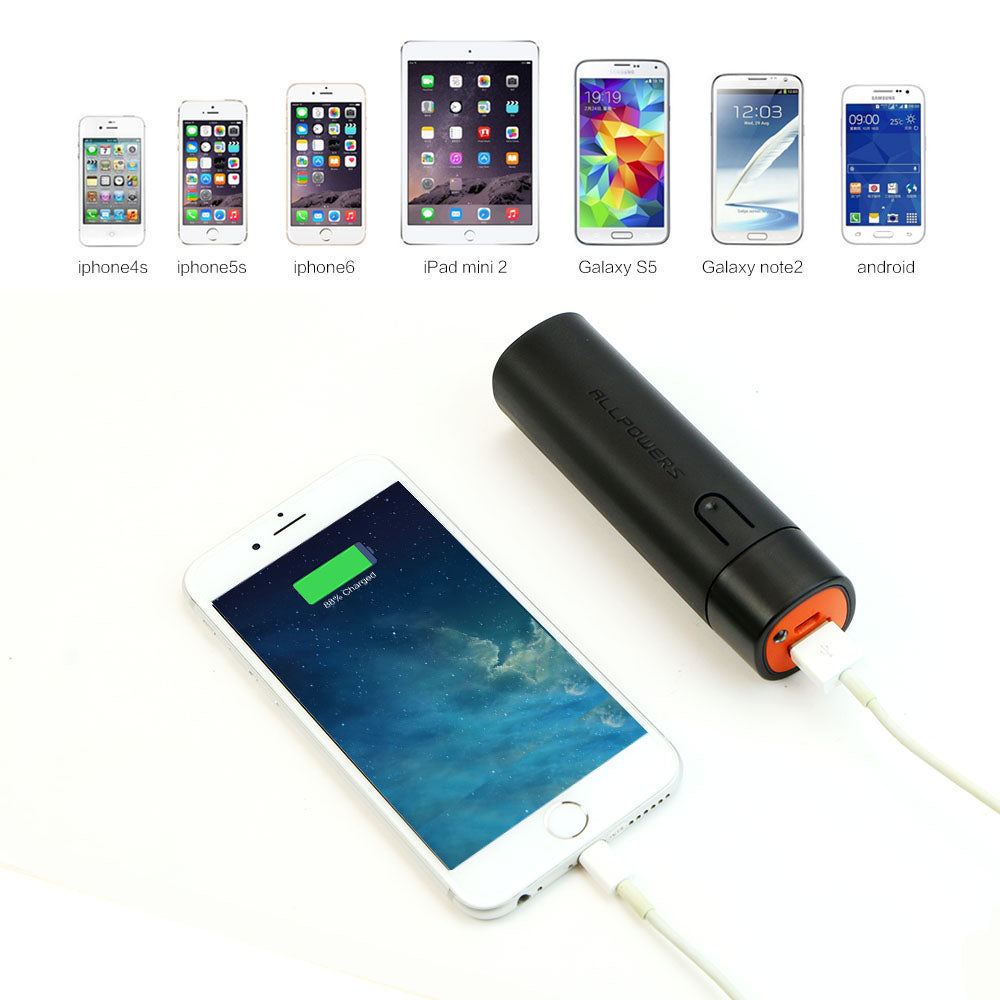 Portable Phone Chargers 5000mAh Power Bank Phone External Battery Charger for iPhone 6 6s 7 7s Samsung HTC LG and more. - 10MINUS: Online Shopping Destination with High-Quality
