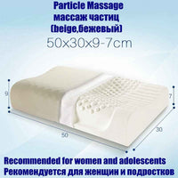 NOYOKE Thailand Import Natural Latex Cervical Vertebrae Health Care Orthopedic Massage Natural