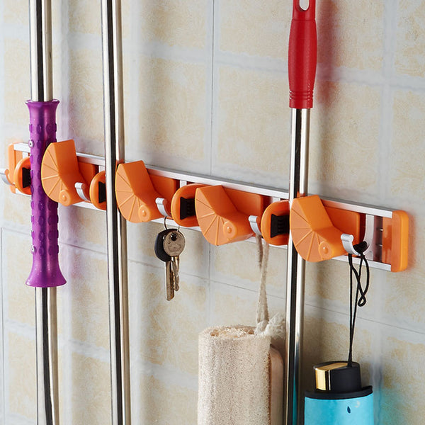 New Popular Kitchen Wall Mounted Hanger Storage Rack 2-4 Position