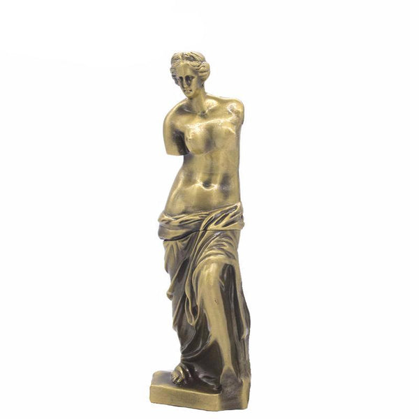 Metal Nude Naked Venus Figurine Roman Venus Goddess De Milo Aphrodite of Milos Ancient Greek Statue Home Office Decor - 10MINUS: Online Shopping Destination with High-Quality