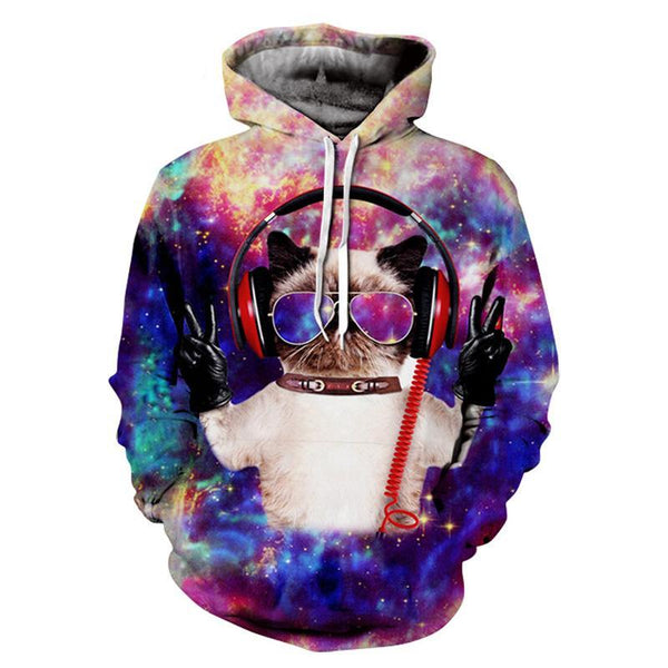 Brand Sweatshirts Men/women 3d Sweatshirts Print Sunlight Refraction