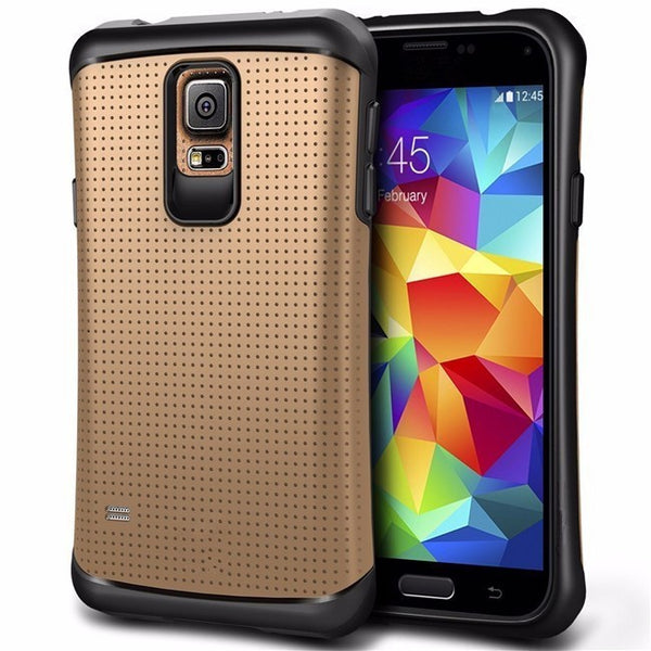 Hybrid PC+TPU Dual Layer Shockproof Protect Case For Samsung Galaxy