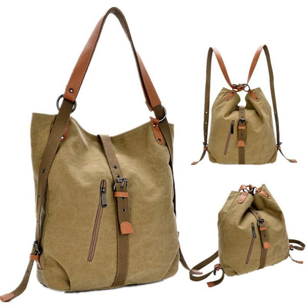 backpack vintage canvas women bag shoulder bag women backpack preppy