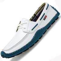High-Quality Genuine Leather Men Casual  Shoes Soft Moccasins Fashion