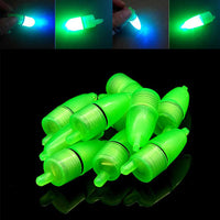 10 Pcs LED Light Night Float Fishing Rod Bite Shing Accessories CLH@8
