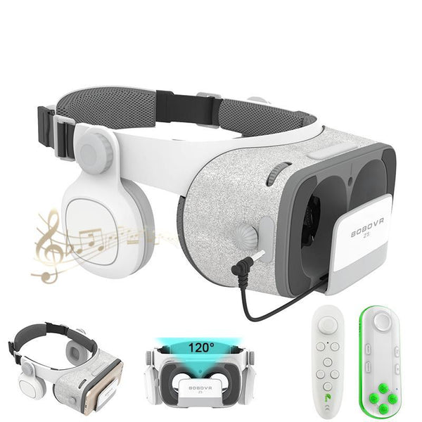 BOBOVR Z4 Update BOBOVR Z5 120 FOV 3D Cardboard Helmet Virtual Reality Glasses - 10MINUS: Online Shopping Destination with High-Quality