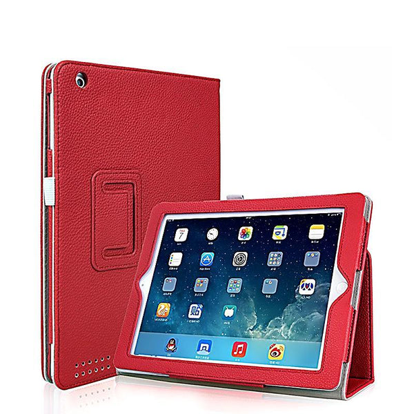 PU Case for Apple iPad 4 for iPad 3 Flip PU Leather Case Folding Folio Smart Stand Cover Case for iPad 2 3 4 Tablet Funda Case - 10MINUS: Online Shopping Destination with High-Quality