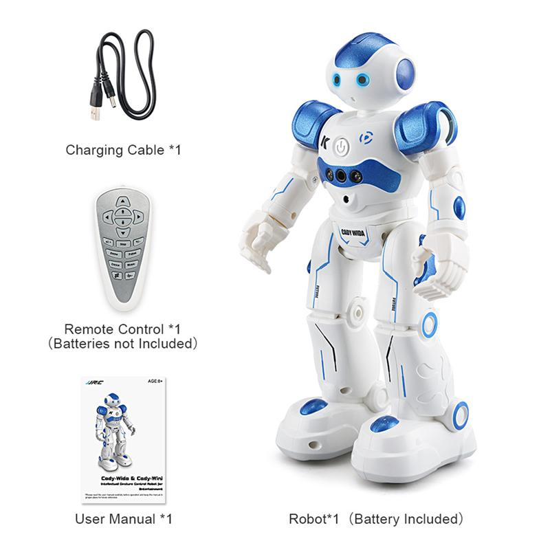 RC Robot Intelligent Programming Remote Control Robotica Toy Biped