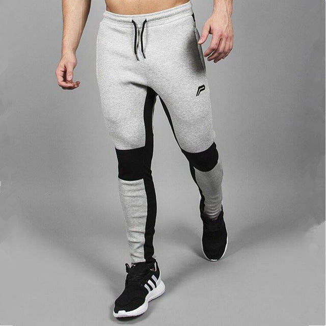 Men's Joggers Trousers Casual Pants Sweatpants Jogger Casual Elastic