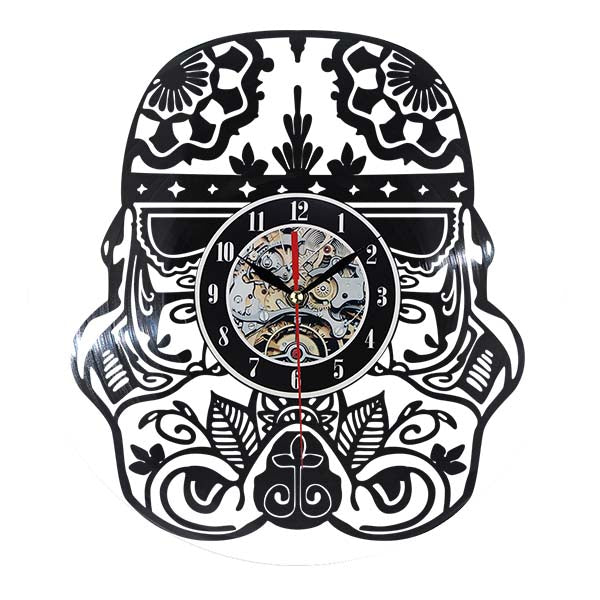 Creative Car Shape Vinyl Retro Wall Clock CD Record Time Clock Film Theme Creative European - 10MINUS: Online Shopping Destination with High-Quality