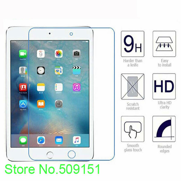 Apple iPad 9.7 inch Tablet Model A1822 A1823 Screen Protector 9H Tempered Glass Protective Skin Safe - 10MINUS: Online Shopping Destination with High-Quality