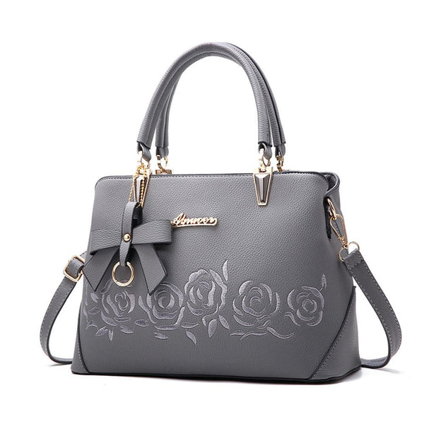 2018 Europe fashion trend bag women handbag pu leather shoulder bag