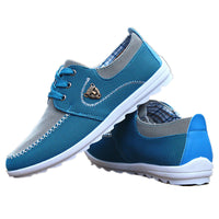 Spring Autumn Men Casual Shoes Breathable Lightweight Driving Shoes