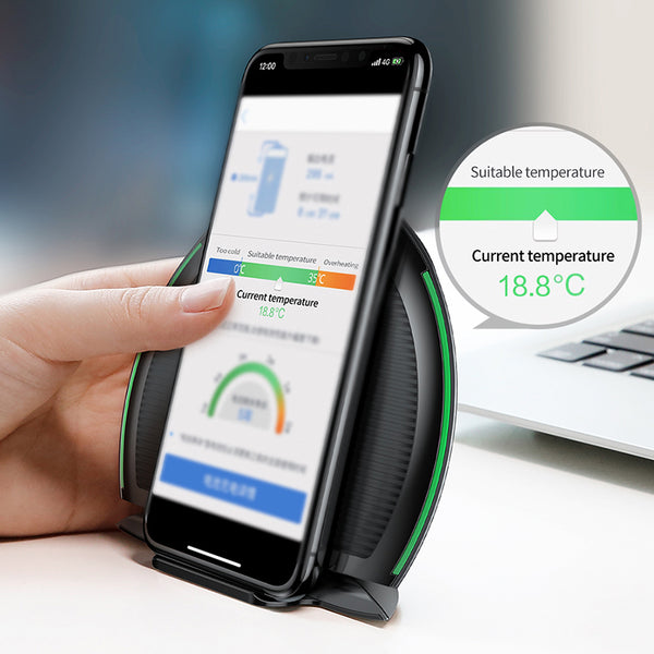 Baseus Collapsible Qi Wireless Charger for iPhone 8/X Multifunction