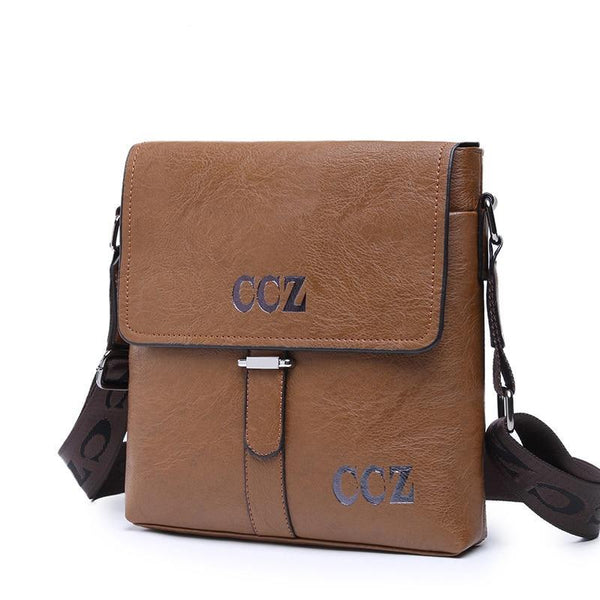New Arrival Mens Crossbody Bags Casual Flap Bag For men Solid pattern