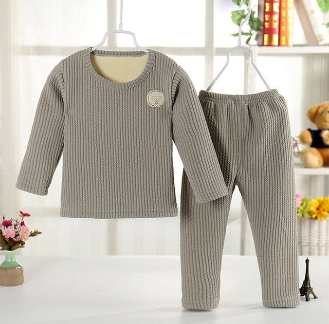 Infant Autumn Winter kids Clothes Thermal Underwear Long Johns