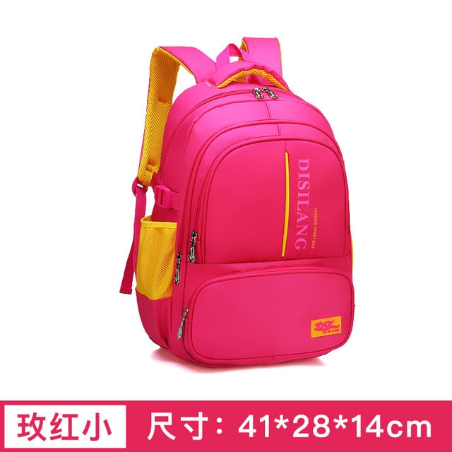 waterproof Children School bags Boys Girls kids Backpacks school bags
