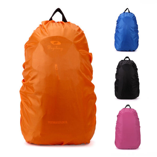 35L Useful Waterproof Backpack Bags Rain Cover for Out of Home Travel Camp