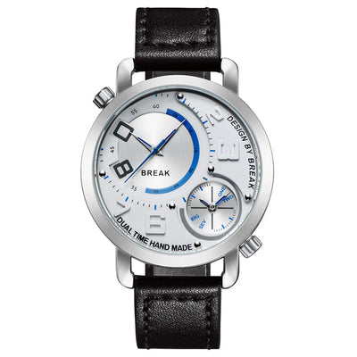 Sports Dual Time Zone Watch