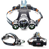 8000 Lumen Tactical Headlamp Flashlight