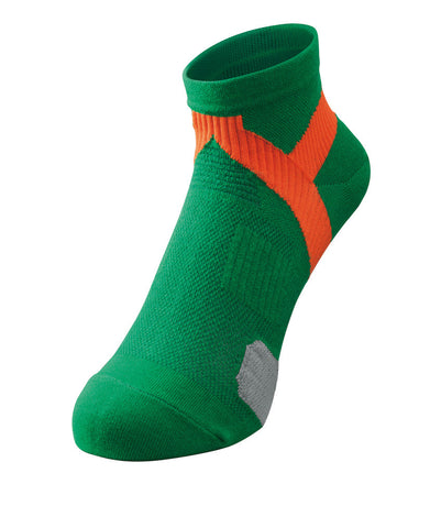 RS Laufsocken X10<br>Green/Orange<br>EU 41-43