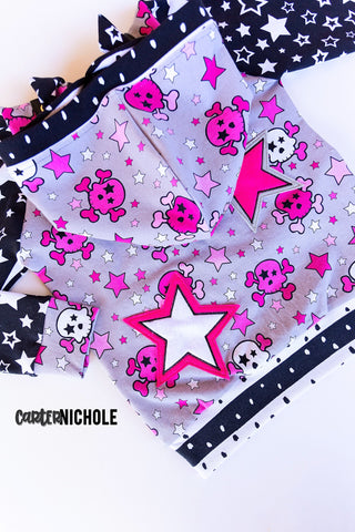 Pinks Skulls -n- Stars Preorder Round X - ALL BASES LISTED HERE